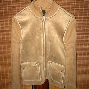 VTG RALPH LAUREN FAUX SUEDE SWEATER Jacket…